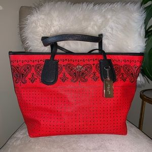 Authentic COACH tote bag.
